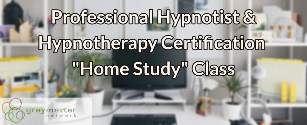 Hypnotherapy Home Study